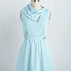 Brand New Coach Tour Dress in Sky